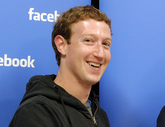 Mark Zuckerberg patente