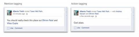 Facebook permite etiquetar amigos desde las aplicaciones Open Graph
