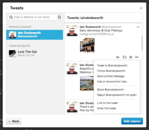 TweetDeck actualiza aplicación para Chrome y su versión web
