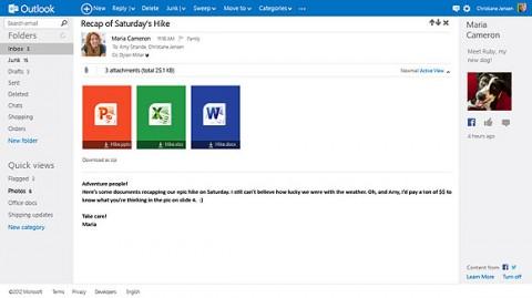 Outlook.com y office