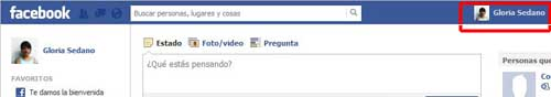 acceso perfil de Facebook