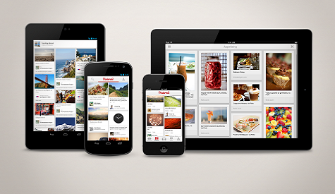 Pinterest para iPhone, iPad y Android