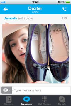 Skype para iPad y iPhone ya permite compartir fotos