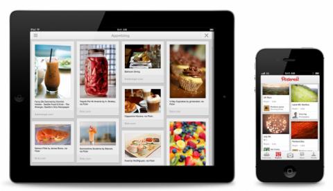 Pinterest se actualiza para dar soporte a iPhone 5