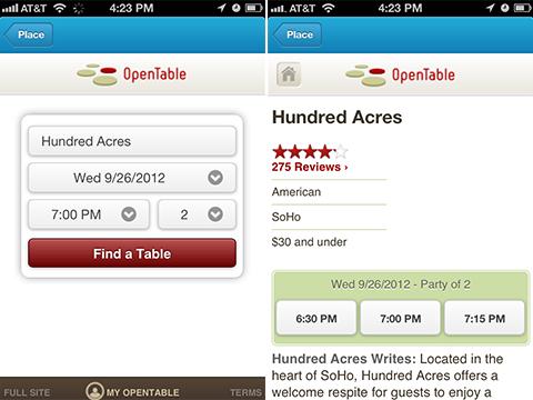Foursquare ya permite hacer reservas en restaurantes