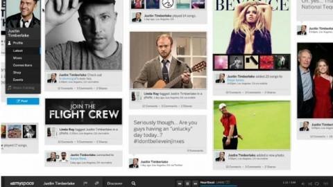 nuevo Myspace 2012