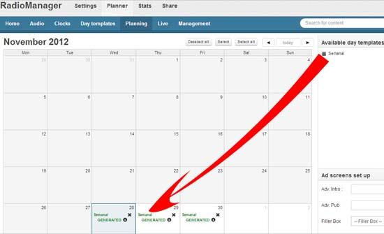 planifica tu calendario mensual