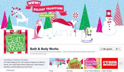 Bath & Body Works en Facebook