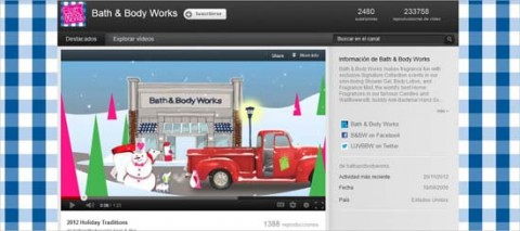 Bath & Body Works en YouTube