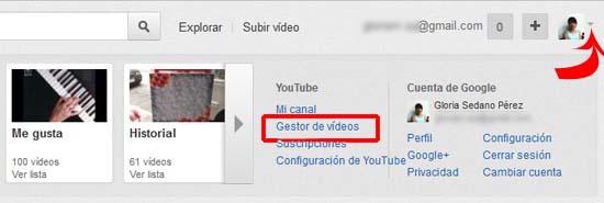 acceder al editor de youtube