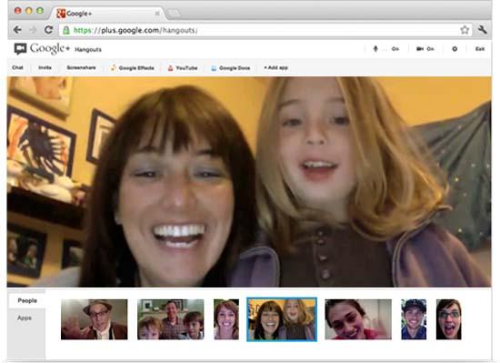 Características de los Hangout de Google Plus