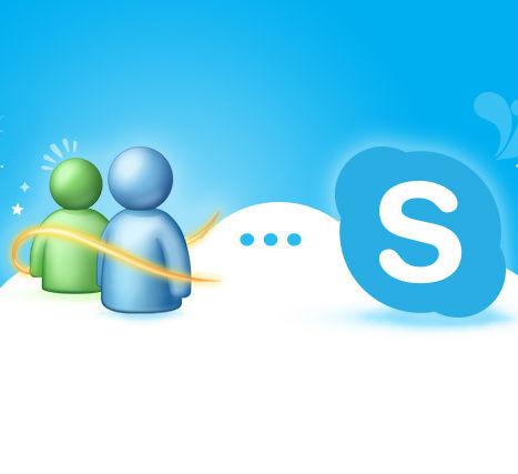 fusionar windows live messenger con skype