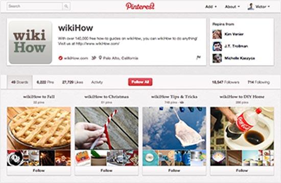 Cómo convertir un perfil personal de Pinterest en una cuenta  empresarial