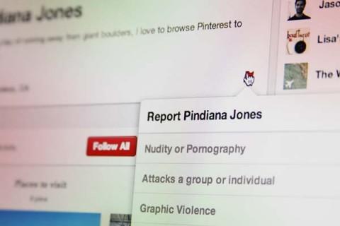 Pinterest contra spam