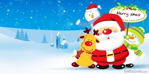 Santa Claus ceebra navidad