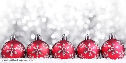 adornos de navidad rojos