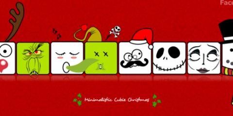 cubos de navidad