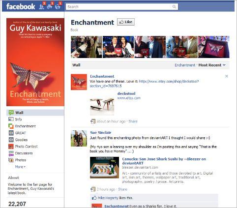 facebook para promocionar un  nuevo producto