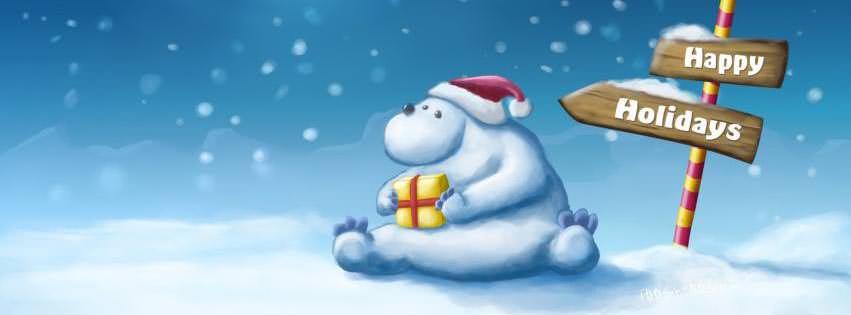 50 imágenes de Navidad para decorar la foto portada de Facebook