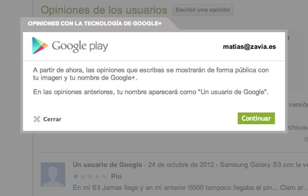 google plus se integra a google play
