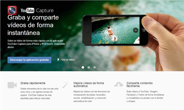 graba y comparte videos con youtube capture