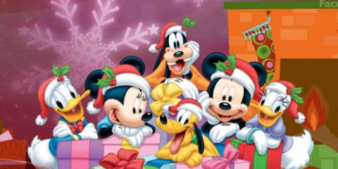 navidad de disney