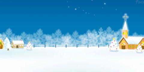 navidad en la nieve