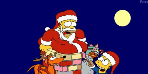 navidad-simpsons