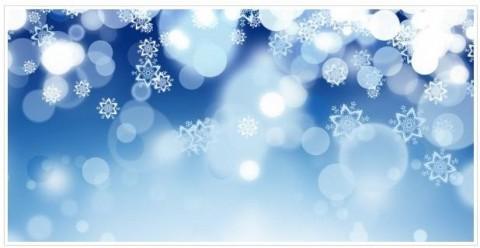 nevado azul para navidad