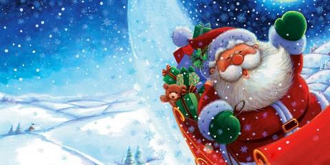 santa claus en navidad