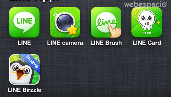 aplicaciones line