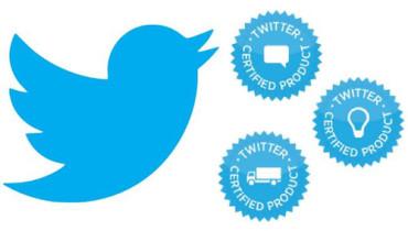 Certificación de productos de Twitter
