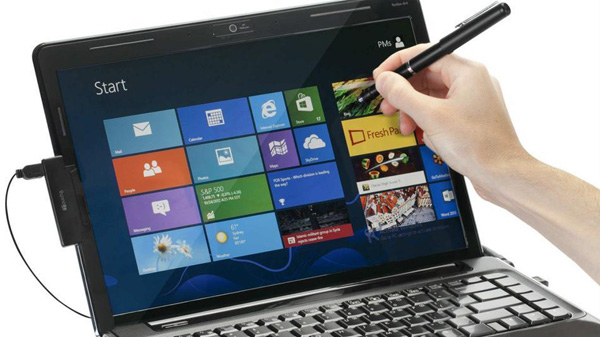 convertir computadoras con windows 8 a pantalla tactil