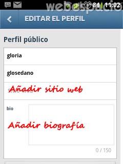 editar perfil en instagram 2