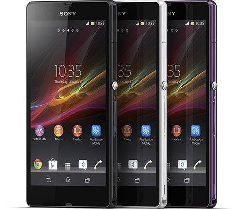 Teléfono de Sony resistente al agua