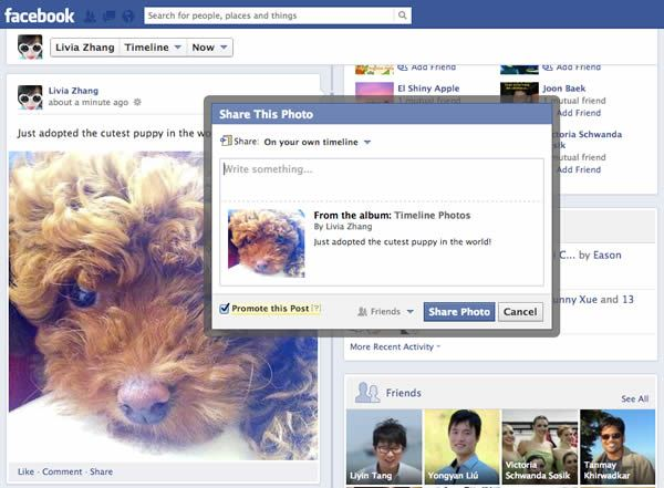 promocionar publicaciones en facebook