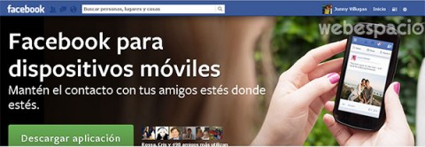 facebook movil