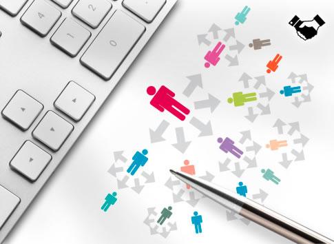 listas redes sociales negocios