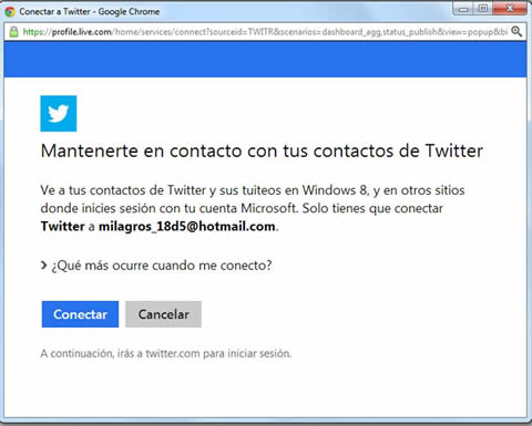 Outlook_mantener contacto.