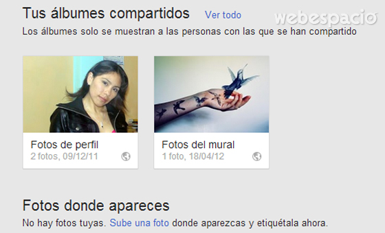 fotos en google plus