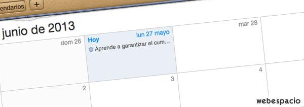 calendario publicaciones