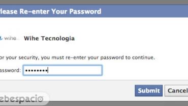 ingresar clave de facebook