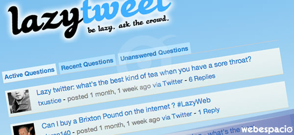 lazytweet preguntas twitter