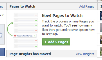 PagesToWatch de Facebook