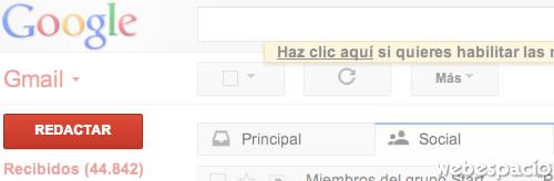 boton redactar gmail
