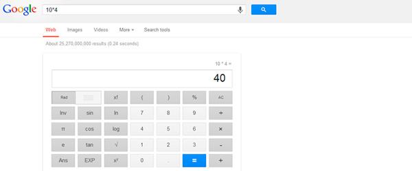 calculadora en google