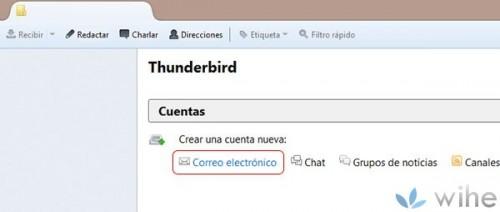 abrir thunderbird
