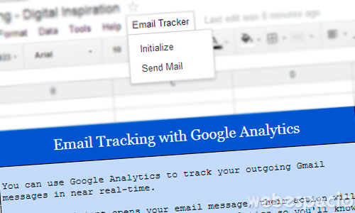 iniciar email tracker