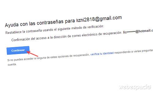 recuperar correo gmail correo electrónico