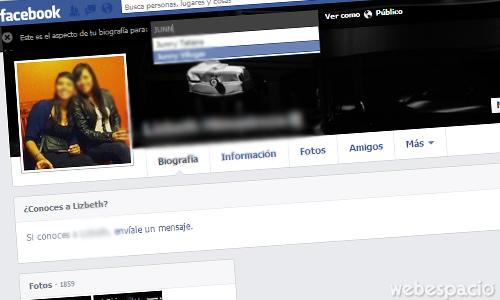 saber como ven otros mi perfil de facebook